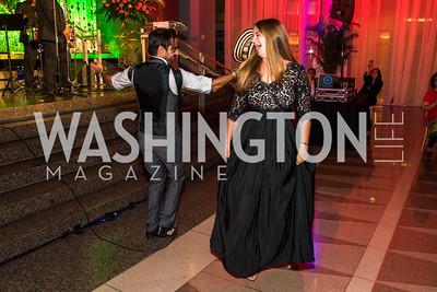 Gregorio Uribe, Maria Leyva. Photo by Alfredo Flores. Catholic Charities Spanish Catholic Center Gala 2016. Ronald Reagan Building. October 28, 2016
