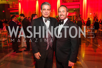 Dave Kane, Chris Donatelli. Photo by Alfredo Flores. Catholic Charities Spanish Catholic Center Gala 2016. Ronald Reagan Building. October 28, 2016 -2.CR2