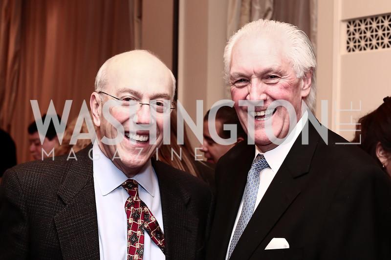 Kurt Newman, Jefferson Hotel Managing Director Philip Wood. Photo by Tony Powell. Celebrating The Jefferson. March 7, 2016