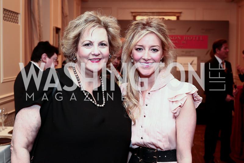 Martha Slagle, Jayne Visser. Photo by Tony Powell. Celebrating The Jefferson. March 7, 2016