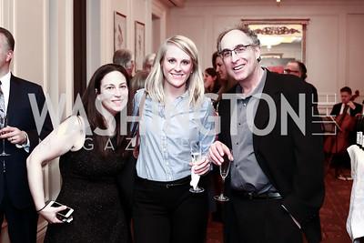 Meredith Goldberg, Melissa Cahoon, Steven Kostant. Photo by Tony Powell. Celebrating The Jefferson. March 7, 2016