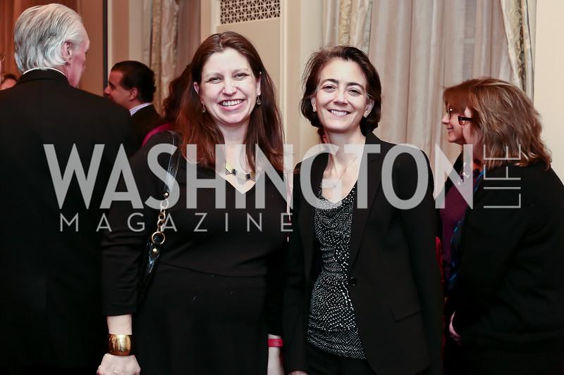 Jennifer Nycz-Conner, Sherri Dalphonse. Photo by Tony Powell. Celebrating The Jefferson. March 7, 2016