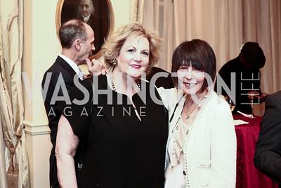 Martha Slagle, Ellen Sigal. Photo by Tony Powell. Celebrating The Jefferson. March 7, 2016