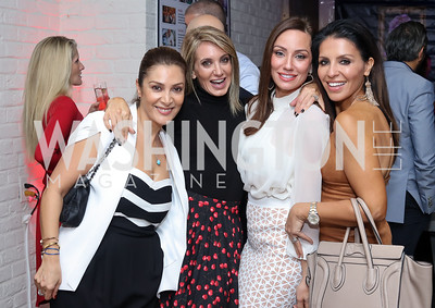Micky Farivar, Tara Patten, Kristin Cecchi, Lily Talakoub. Photo by Tony Powell. Chance for Life 2017 Kickoff. October 27, 2016