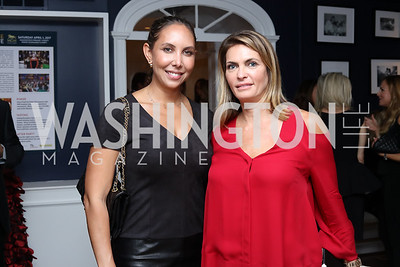 Evelyn Miller, Erika Schiller. Photo by Tony Powell. Chance for Life 2017 Kickoff. October 27, 2016
