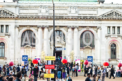 Cherry Blast at Carnegie Library, April 16,2016, photo by Ben Droz