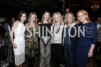 Tracy Foreman, Kay Kendall, Alison Shulman, Linda Potter, Debbie Dockser, Alexe Nowakowski. Photo by Tony Powell. DREAMscape VIP Dance Party. Mulebone. May 7, 2016