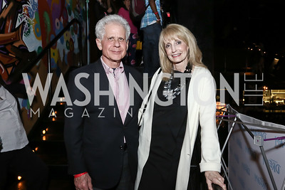 Donald and Rhona Friedman. Photo by Tony Powell. DREAMscape VIP Dance Party. Mulebone. May 7, 2016