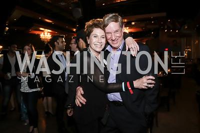 Nancy Tartt, John Thompson. Photo by Tony Powell. DREAMscape VIP Dance Party. Mulebone. May 7, 2016