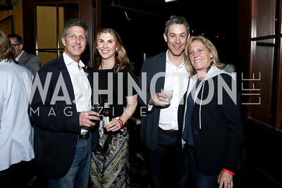 John and Alison Shulman, Brad and Debbie Dockser. Photo by Tony Powell. DREAMscape VIP Dance Party. Mulebone. May 7, 2016