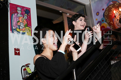 Grace Cho, Harlie Heiserman. Photo by Tony Powell. DREAMscape VIP Dance Party. Mulebone. May 7, 2016
