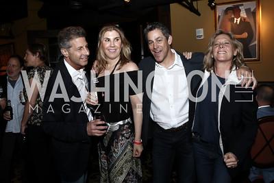 John and Alison Shulman, Brad and Debbie Dockser. Photo by Tony Powell. DREAMscape VIP Dance Party. Mulebone. May 7, 2016