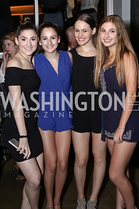 Katelyn Foreman, Jayme Slotkin, Zoe Dockser, Alexa Shulman. Photo by Tony Powell. DREAMscape VIP Dance Party. Mulebone. May 7, 2016