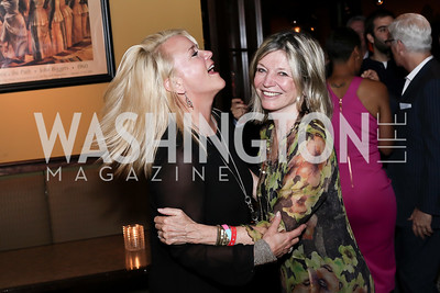 Lyn McFadden, Kay Kendall. Photo by Tony Powell. DREAMscape VIP Dance Party. Mulebone. May 7, 2016