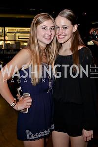 Alexa Shulman, Zoe Dockser. Photo by Tony Powell. DREAMscape VIP Dance Party. Mulebone. May 7, 2016