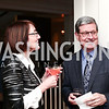 Stephanie Lambidakis, Dave Millard. Photo © Tony Powell. Cocktails with 1 Atelier to Benefit Knock Out Abuse. March 29, 2016