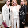 Beth Masri, Cheryl Masri, Cara Fratta. Photo © Tony Powell. Cocktails with 1 Atelier to Benefit Knock Out Abuse. March 29, 2016
