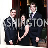 Michael Moore, Joy Siegel, Jeff Wilson. Photo © Tony Powell. Cocktails with 1 Atelier to Benefit Knock Out Abuse. March 29, 2016