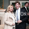 Cheryl Masri, Jonathan Taylor. Photo © Tony Powell. Cocktails with 1 Atelier to Benefit Knock Out Abuse. March 29, 2016