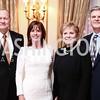 Daniel Schultz, Jean Case, Kay Granger, Steve Case. Photo by Tony Powell. Colombian President Visit. February 4, 2016