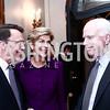 Rob Mosbacher, Former Colombia Amb. Carolina Barcos, John McCain. Photo by Tony Powell. Colombian President Visit. February 4, 2016