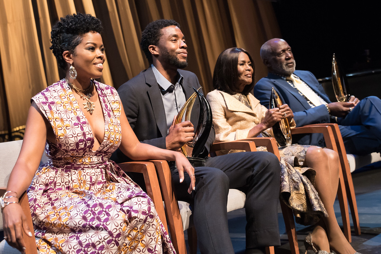 Malinda Williams, Chadwick Bosman, Cecily Tyson and Richard Roundtree.
