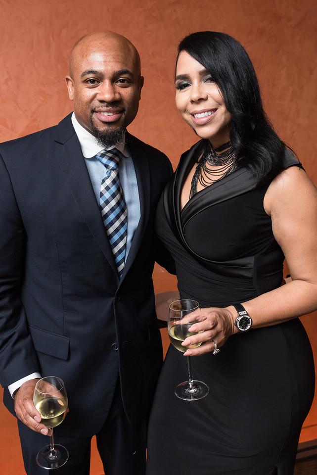Duane King and Tori Johnson.