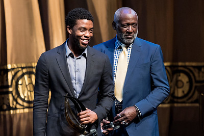 Chadwick Bosman and Richard Roundtree.