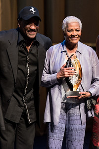 Donnie Simpson and Dionne Warwick.