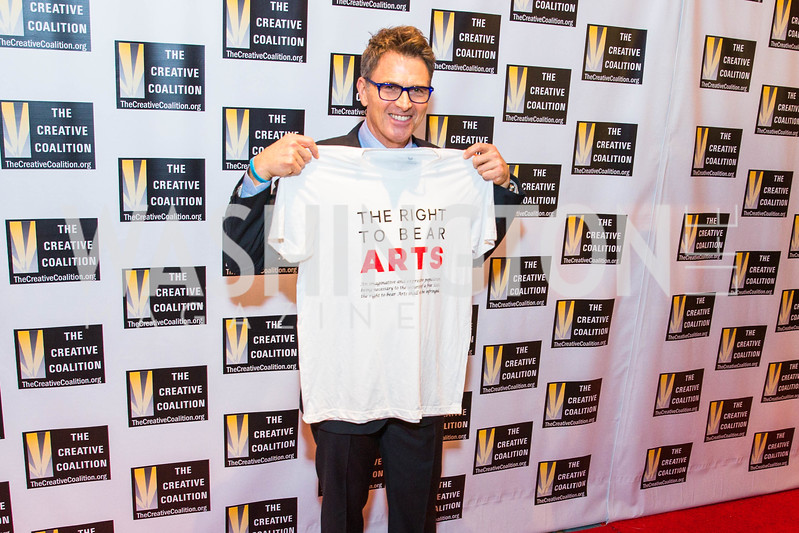 Tim Daly. Photo by Alfredo Flores. Creative Coalition Inaugural Ball. Harman Center for the Arts. January 20, 2017