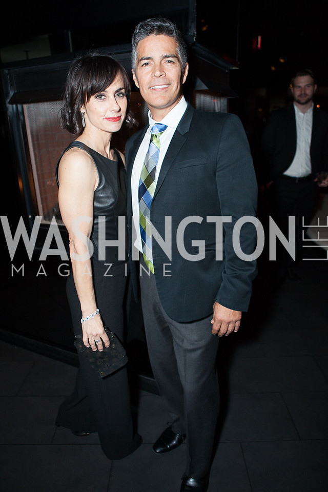 Constance Zimmer, Esai Morales
