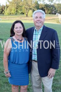 Diana and John Jaeger. Photo by Tony Powell. Creighton Farms Invitational. Salamander Resort. September 14, 2016