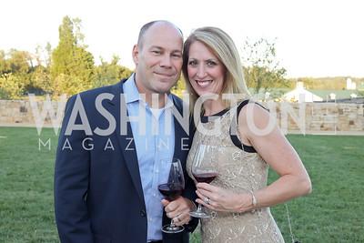 Tom and Lori Duval. Photo by Tony Powell. Creighton Farms Invitational. Salamander Resort. September 14, 2016
