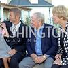 Lili and Jacques Rancourt, Jack and Barbara Nicklaus. Photo by Tony Powell. Creighton Farms Invitational. Salamander Resort. September 14, 2016
