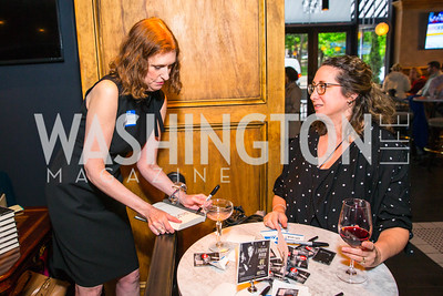 Cathy Alter, Elizabeth Chang. Photo by Alfredo Flores. Crush Book Party. Pennsylvania 6. April 27, 2016