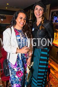 Lydia Russo, Nicole Gallub. Photo by Alfredo Flores. Crush Book Party. Pennsylvania 6. April 27, 2016