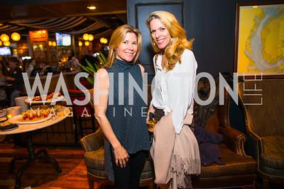 Christine Huve, jennifer Vinson. Photo by Alfredo Flores. Crush Book Party. Pennsylvania 6. April 27, 2016
