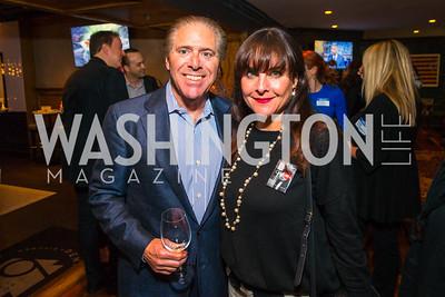 David Romm, Jennifer Romm. Photo by Alfredo Flores. Crush Book Party. Pennsylvania 6. April 27, 2016