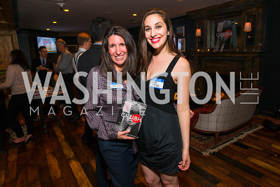 Barbara Martin, Leah Benoit. Photo by Alfredo Flores. Crush Book Party. Pennsylvania 6. April 27, 2016