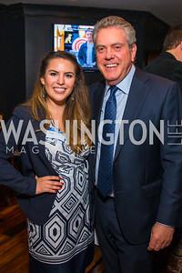 Sofia Royce, Theo Adamstein,. Photo by Alfredo Flores. Crush Book Party. Pennsylvania 6. April 27, 2016