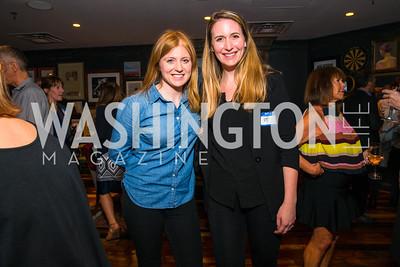 Erin McPike, Margaret Chaffe, . Photo by Alfredo Flores. Crush Book Party. Pennsylvania 6. April 27, 2016