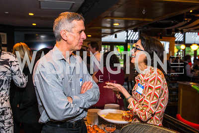 Peter Haas, Sherri Dalphonse. Photo by Alfredo Flores. Crush Book Party. Pennsylvania 6. April 27, 2016