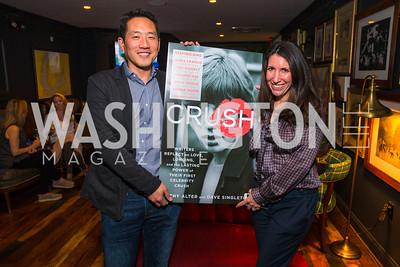 Howard Yoon, Barbara Martin. Photo by Alfredo Flores. Crush Book Party. Pennsylvania 6. April 27, 2016