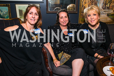 Annie Grower, Elizabeth Chang, Jill Collins. Photo by Alfredo Flores. Crush Book Party. Pennsylvania 6. April 27, 2016