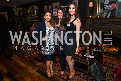 Sofia Royce, Barbara Martin, Leah Benoit. Photo by Alfredo Flores. Crush Book Party. Pennsylvania 6. April 27, 2016