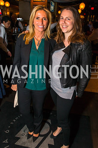 Maria Trabocchi, Courtney Allen.,  Photo by Alfredo Flores. Crush Book Party. Pennsylvania 6. April 27, 2016