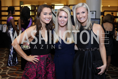 Blair Pelley, Michelle David, Lauren McCormack. Photo by Tony Powell. 2016 DC Dancing Stars. Sheraton Tysons. November 5, 2016