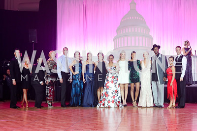 Celebrity Dancers. Photo by Tony Powell. 2016 DC Dancing Stars. Sheraton Tysons. November 5, 2016