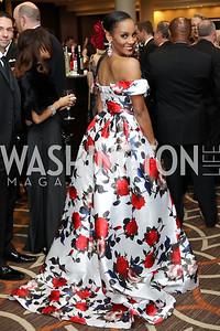Mrs. DC America Kinosha Soden. Photo by Tony Powell. 2016 DC Dancing Stars. Sheraton Tysons. November 5, 2016