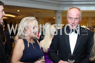 Kathy Doody, Joe Shannon. Photo by Tony Powell. 2016 DC Dancing Stars. Sheraton Tysons. November 5, 2016